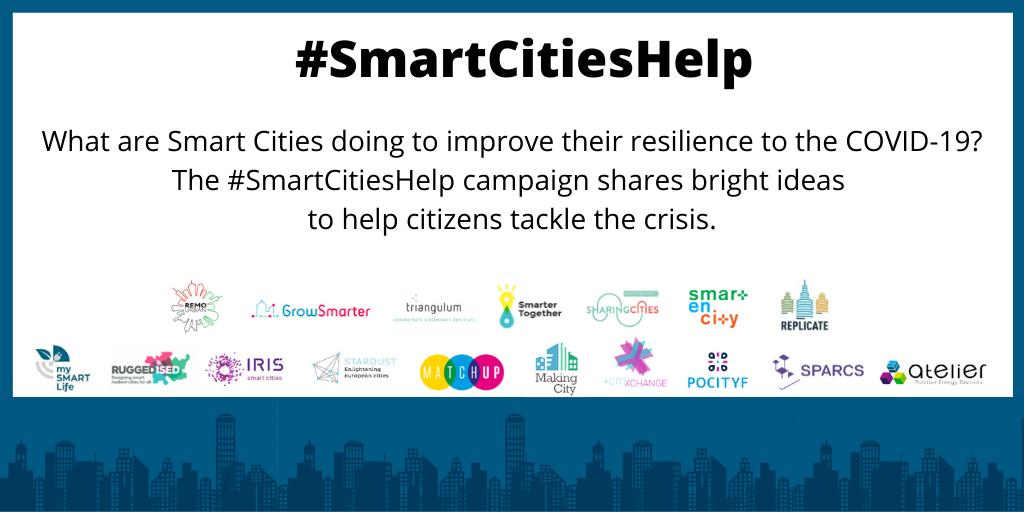 #SmartCitiesHelp social campaign