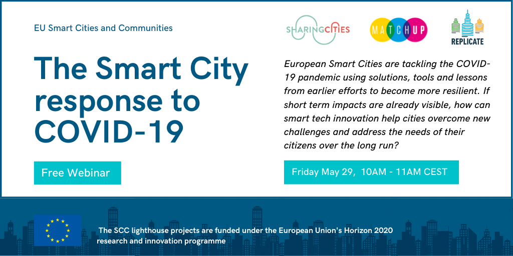 Smart Cities have responded to COVID-19