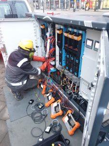Battery storage at Fetscherplatz - SachsenEnergie